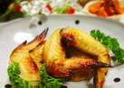 ❀鶏手羽先の塩麹レモンペッパー焼き❀
