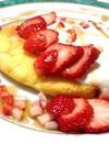 簡単で本格☆ふわふわ♪ハワイのパンケーキ