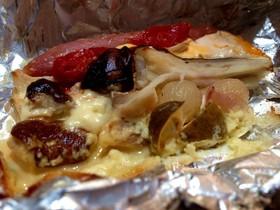 フレッシュポルチーニ茸の包み焼き