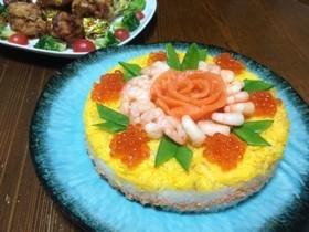 寿司ケーキで誕生日パーティーしましょ!