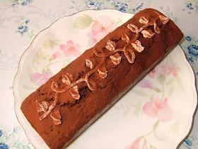 チョコバターケーキ