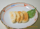 蒲鉾のバター醤油炒め