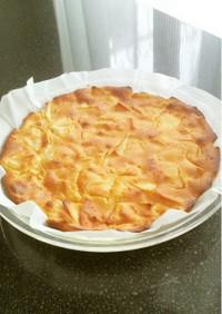 りんごのヨーグルトケーキ~水切り不要