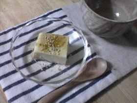 豆乳ゴマプリン