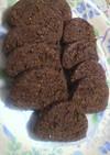 ゴマひじきココア蜂蜜スキムミルククッキー
