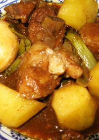 炊飯器de豚スペアリブの焼肉タレ煮込み♪