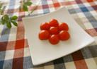 ミニトマトでお花風♡