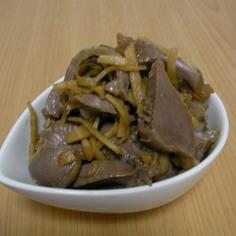 砂肝生姜醤油漬