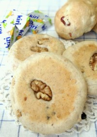グラノーラの平焼きパン