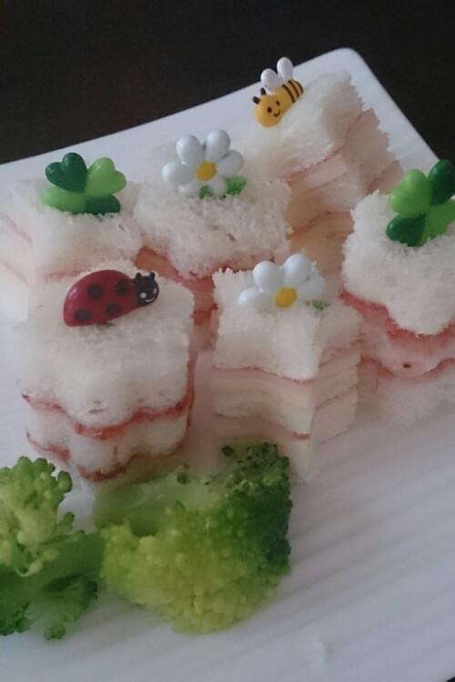 子供のお弁当に!簡単☆プチサンドイッチ☆