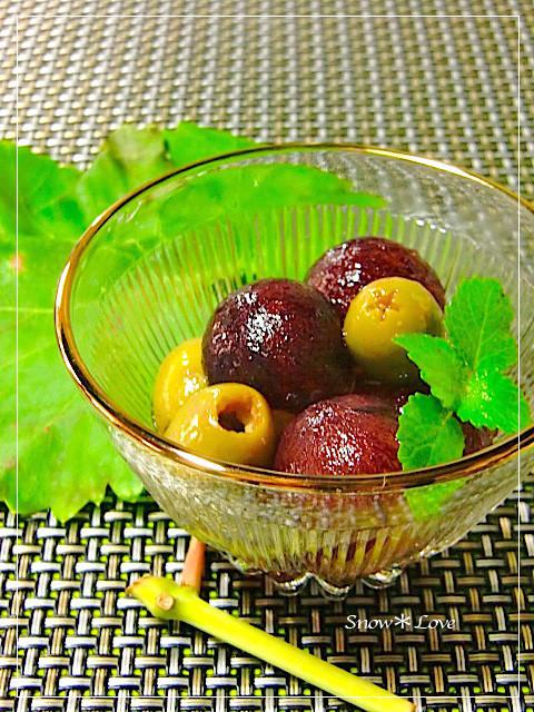 ワインのおつまみ*秋*葡萄のマリネ