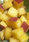 レンジde簡単☆サツマイモのバター煮