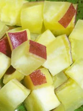 レンジde簡単☆サツマイモのレモン煮