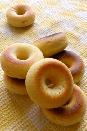 基本のヘルシー焼きドーナツ