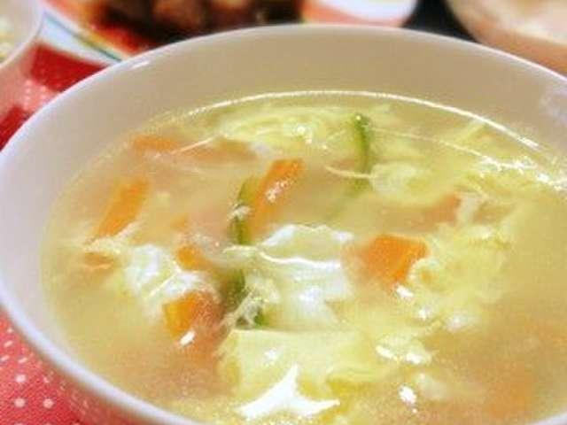 焼肉 屋 卵 スープ