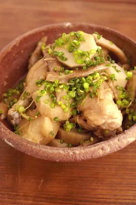手羽元と根菜の中華煮