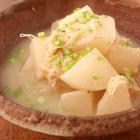 ホタテと大根の炒め煮