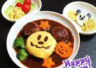 ♡ハロウィンミッキーの煮込みハンバーグ♡