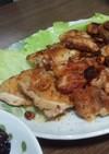 鶏もも肉のガーリックステーキ風*