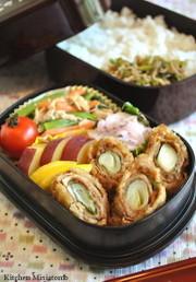 東京大江戸甘味噌ねぎ巻きカツ弁当の写真