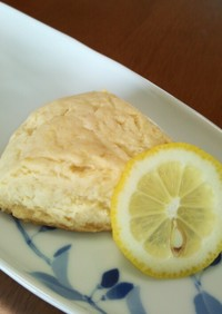 HM☆レモン&ホワイトチョコスコーン♪