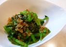 お弁当に!小松菜のおかか和え❀