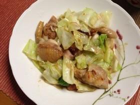 鶏肉の塩麹炒め