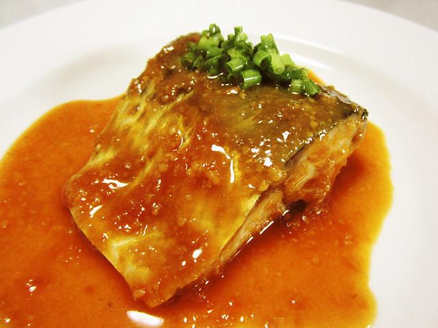 フライパンで作る♪簡単サバの味噌煮。