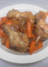 鶏肉の甘酢煮