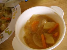 離乳食完了期♡ツナと根菜の煮物