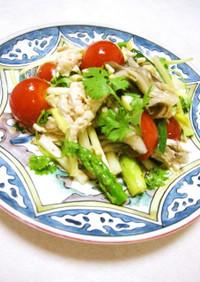 ✴鶏ささみと香菜のオリエンタル風サラダ✴