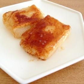 めんつゆでアレンジ餅