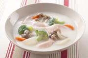秋鮭ときのこのクリームシチューの写真