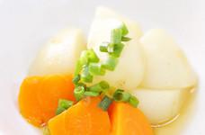 ごろんと切って❉食べ応えのある蕪の炒め煮