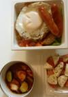 煮込みロコモコ丼弁当