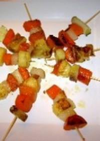 冬野菜のブロシェット