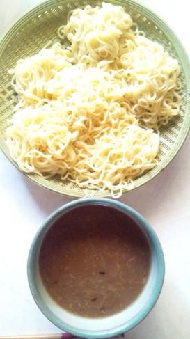 簡単!冷やしつけ麺のたれ味噌バージョン!