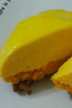 かぼちゃのヨーグルトムースケーキ