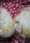 鮭と刻み生姜の混ぜ込みご飯