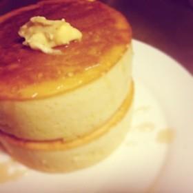 憧れの 極厚ふわふわパンケーキ ♡♡♡