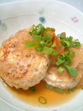 ☆豆腐ハンバーグのおろし煮☆