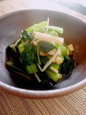 小松菜ときのこの煮浸し