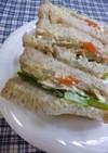 リメイク・ゴボウのきんぴらのサンドイッチ