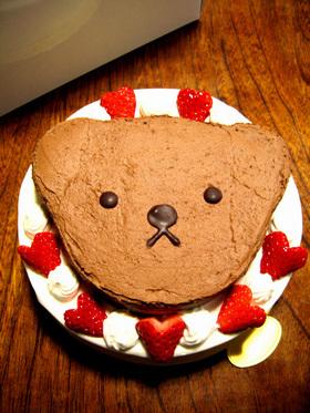 * こぐまのケーキ *