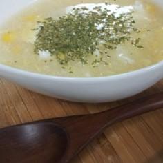 楽チン中華風つぶコーンスープ