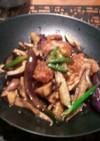 茄子と鶏肉の揚げ浸し 甘酢醤油☆彡