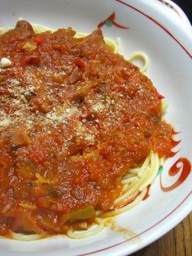 トマトのピリ辛パスタソース