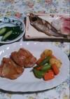 鶏モモ肉のガーリックソテー