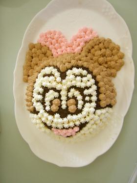 ミニーちゃん☆キャラケーキ
