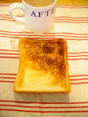 簡単♪カリッカリのチーズトースト